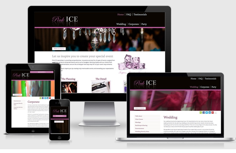Pink Ice Event Planning